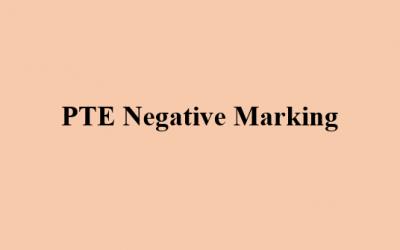Negative Marking